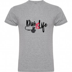 CAMISETA CHICO DIFE IS LIFE 2018