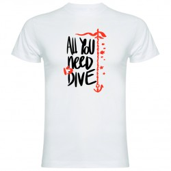 CAMISETA CHICO ALL YOU NEED